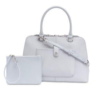 NWT beautiful Calvin Klein Blanche Satchel